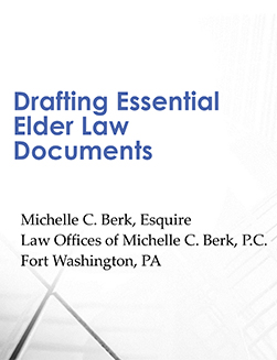 drafting essential elder law documents publication cover